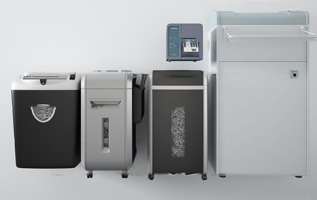 现代办公室碎纸机3D模型