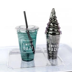 现代冰淇淋饮料 现代其他 饮料 塑料托盘