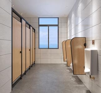 现代工装卫生间 现代卫生间
