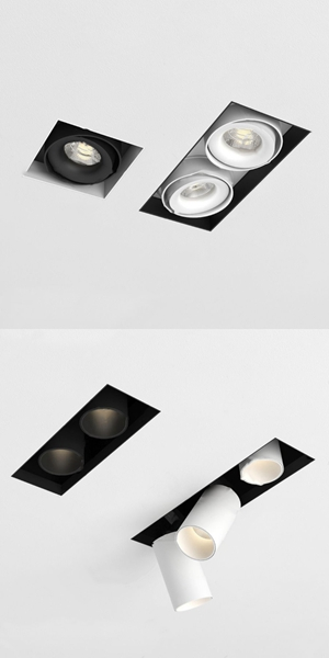 現代射燈筒燈3d模型