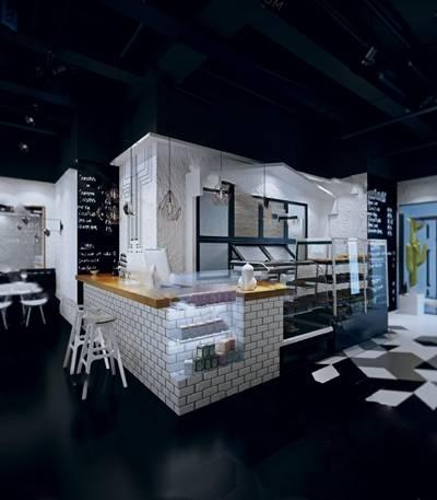 蛋糕店3D模型下载