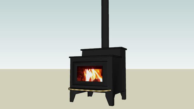 黑色壁炉 火炉 火炉栏 壁炉