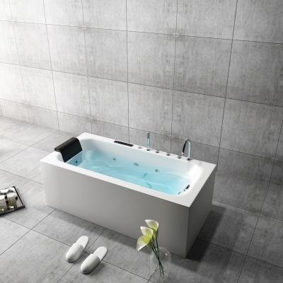 现代浴缸摆件组合3D模型
