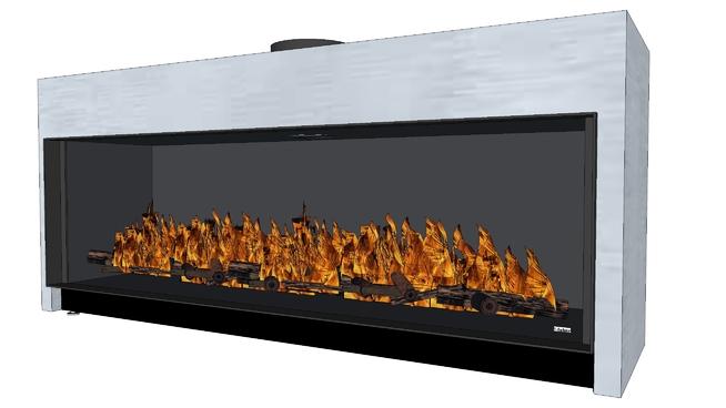 费伯:轻松溢价XL 烤肉 烤炉 火炉 壁炉 显示器