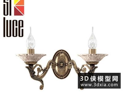 欧式金属壁灯