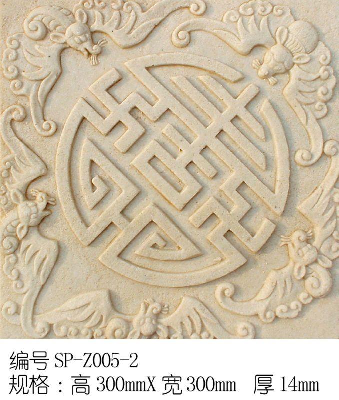 雕花-中式石雕 077