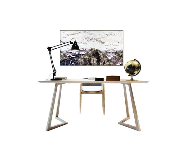 书桌椅子组合