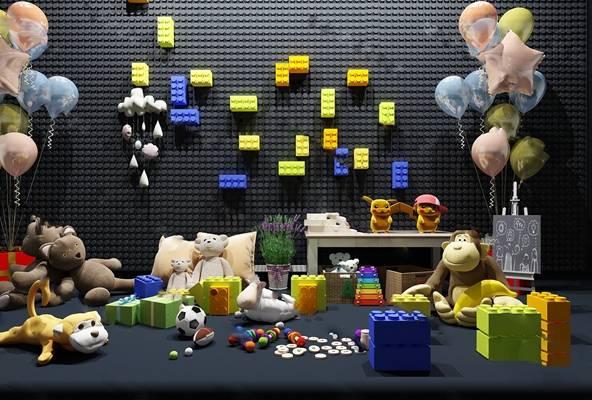 现代玩具3D模型下载