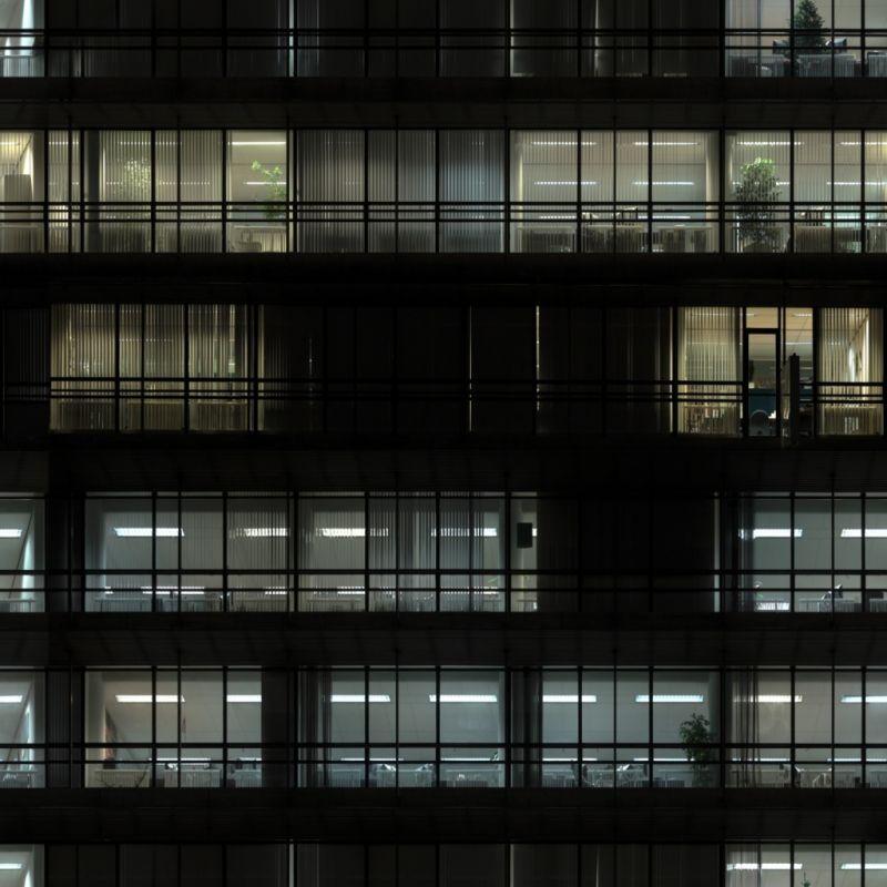 外景-夜晚窗户 50