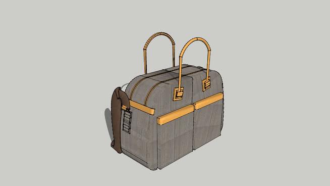 Paul Smith行李-灰色波士顿肩包 箱包 篮子 收音机 机械 包