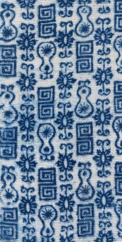 布纹-蓝色布艺 017