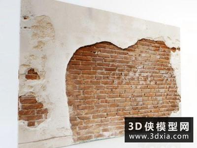 红砖做旧墙壁