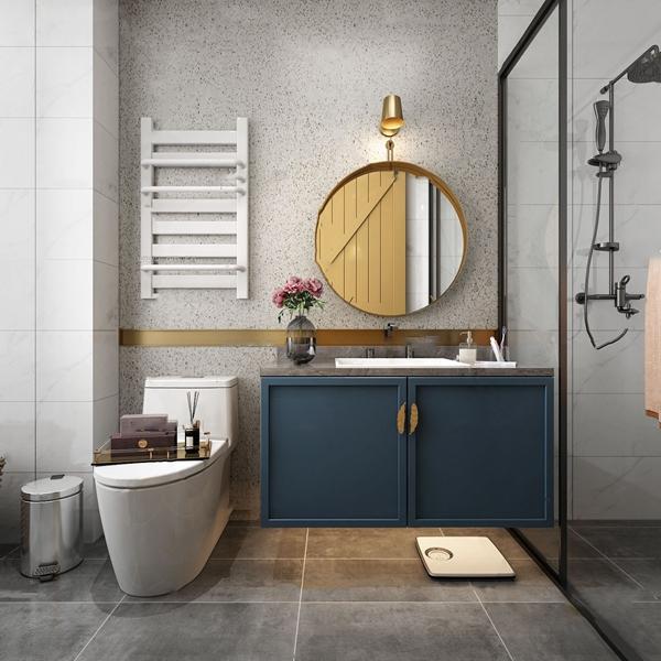 现代轻奢卫生间浴室3d模型