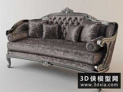 欧式新古典沙发