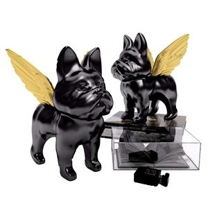 现代斗牛犬摆件3d模型