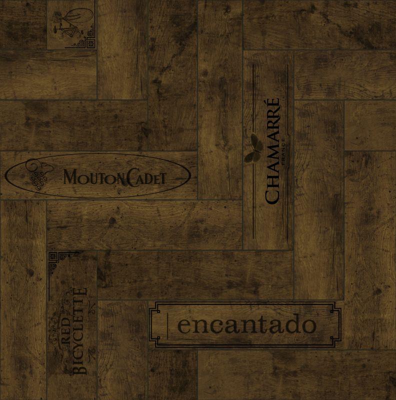 木纹木材-木质拼花 098