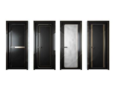 现代轻奢门 现代门 卫生间门 房门