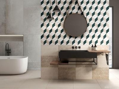 现代流行现代卫生间浴室国外3D模型下载