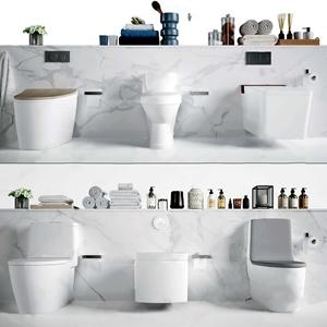 现代马桶 现代卫浴用品 马桶 洗漱用品
