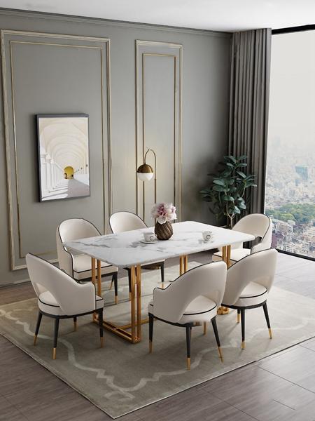 北歐餐桌椅3d模型