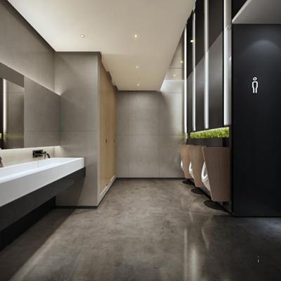 现代办公卫生间 现代卫生间 卫浴柜