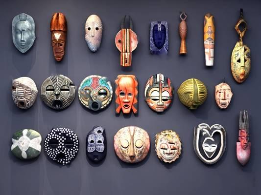 面具3D模型