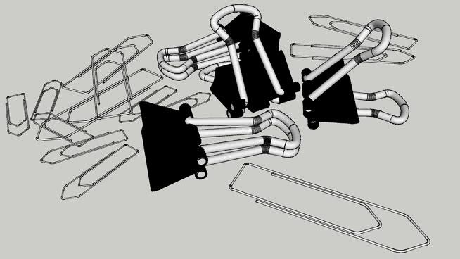 回形针 口哨 开瓶器 绳索 飞机 钩子