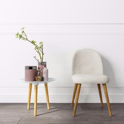 北欧布艺单椅3D模型