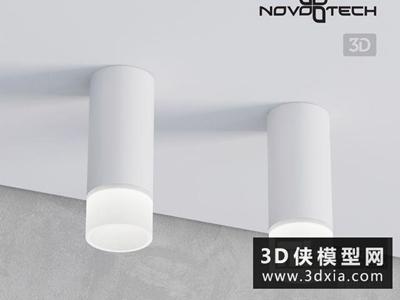 现代明装筒灯
