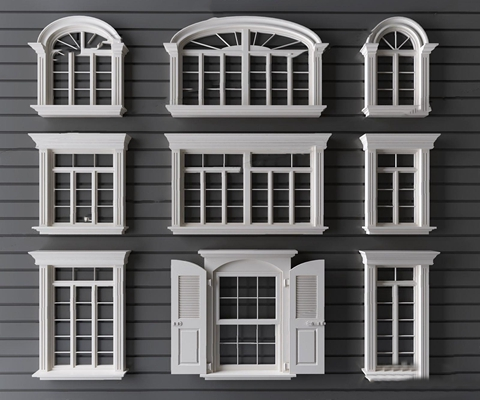 简欧窗户 简欧窗 窗户