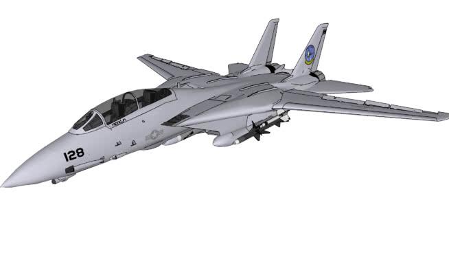 飞机-格鲁门F 14D超级Tomcat V2.0 飞机 战机 客机 航天飞机