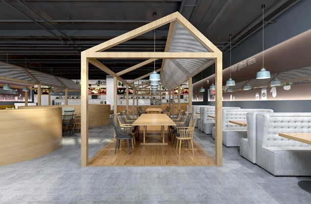 loft餐厅咖啡店 工业风餐厅 咖啡店 loft咖啡店 面馆 餐桌椅 卡座
