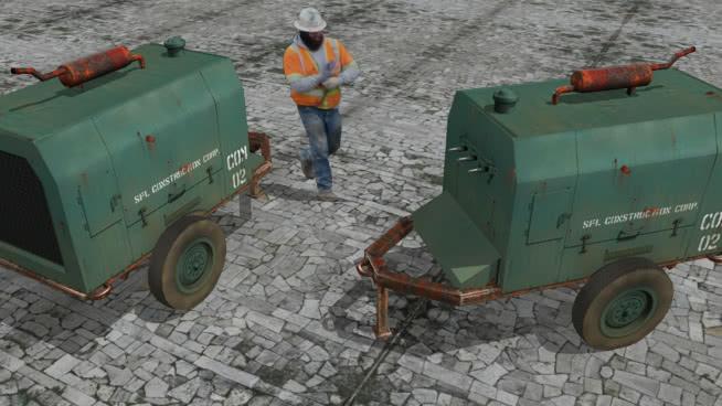 移动式发电机 收割机 垃圾车 拖拉机 脱粒机