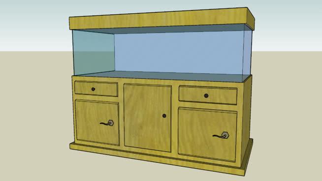 水族馆套装-亚马逊主题 柜子 书桌 家具 家庭电视柜 垃圾箱