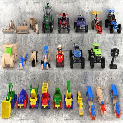 现代玩具车 现代玩具 玩具车