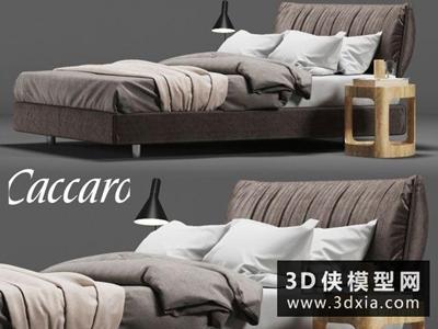 现代风格床