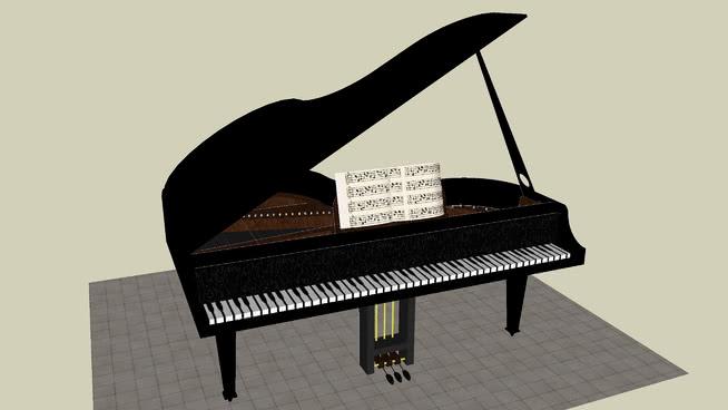 大钢琴 三角钢琴