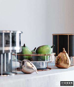 水果碗和花瓶