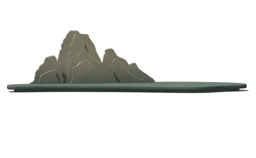 中式摆件SU模型