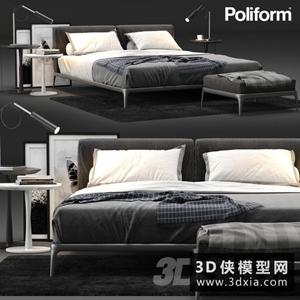 現代風格床