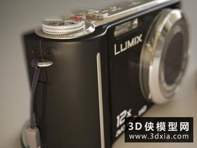 复古数码相机模型