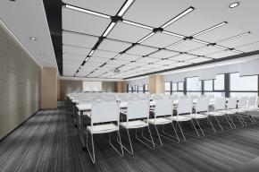 现代会议室报告厅3d模型
