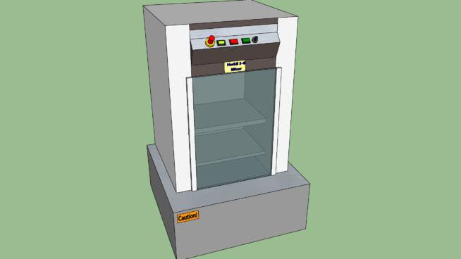 港口5G油漆搅拌机 垃圾箱 烤炉 冰箱 保险箱 断头台