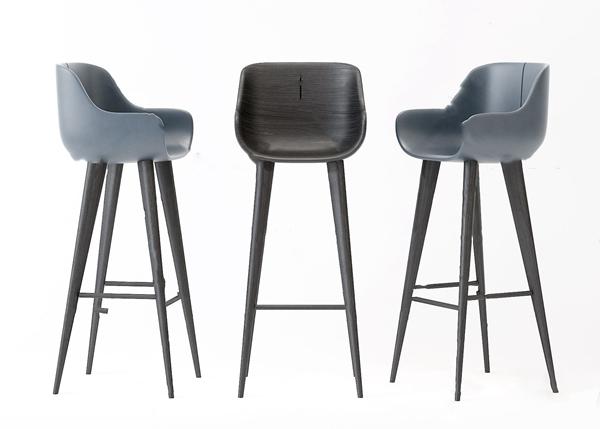 北欧吧椅3d模型