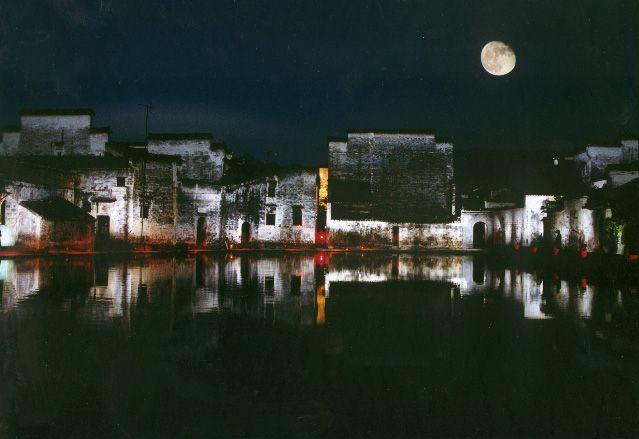 外景-夜晚窗景 4