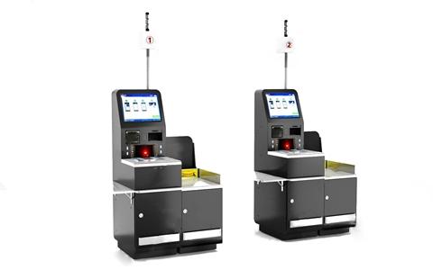 自助收银机 现代其他器材 自助收银机