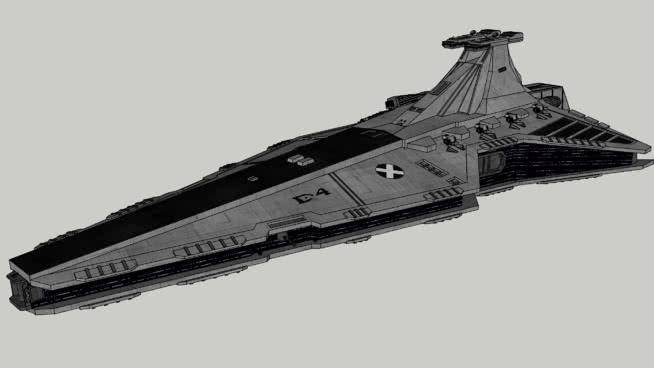 """""""复仇""""Venator II/S2S级驱逐舰*更新* 战机 潜艇 火车 起重机 码头"""