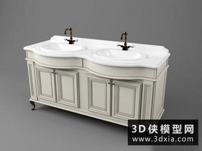 欧式洗浴柜
