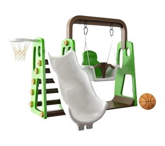 儿童秋千滑滑梯 现代体娱器材 秋千 滑梯 篮球