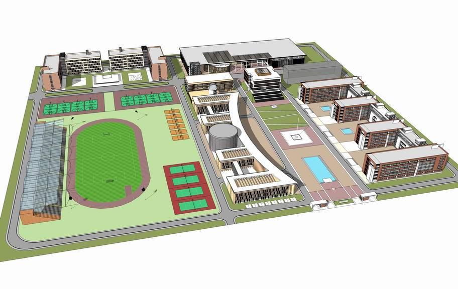 现代学校SU模型